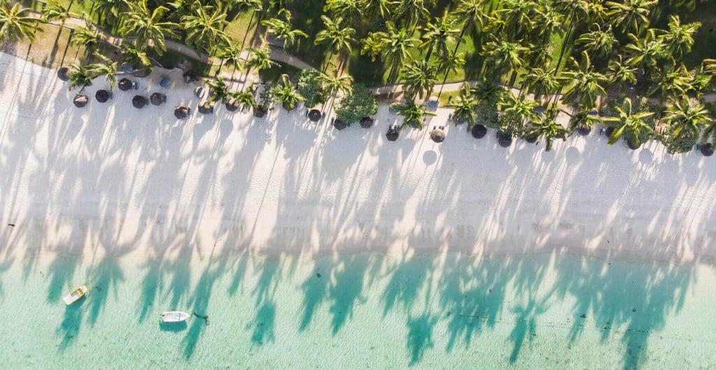 חופים במאוריציוס