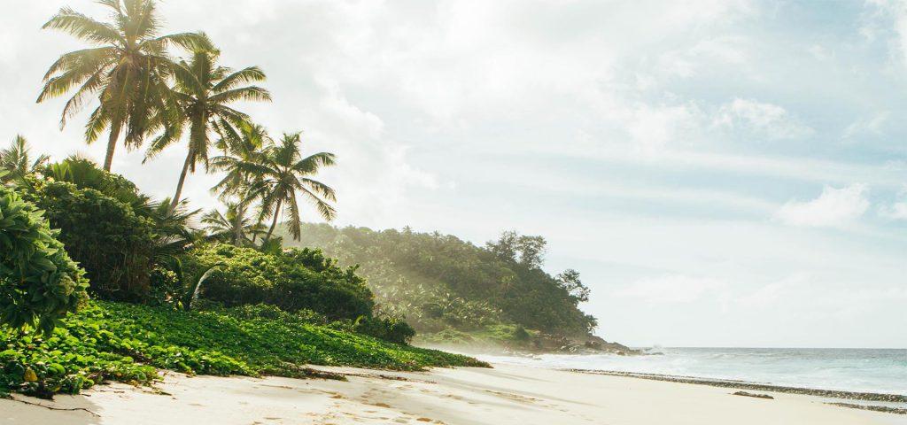 סיישל - חוף ים מדהים
