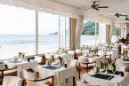 קורל סטרנד הוטל - סיישל - חדר אוכל יפהפה על חוף הים