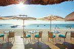 לוקס לה מורן - מאוריציוס - ארוחה ליד חוף הים